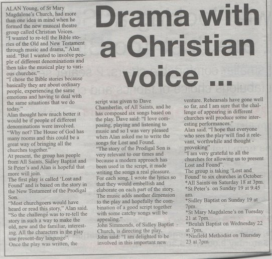 Bexhill Observer, Preview