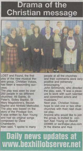 Bexhill Observer, Review