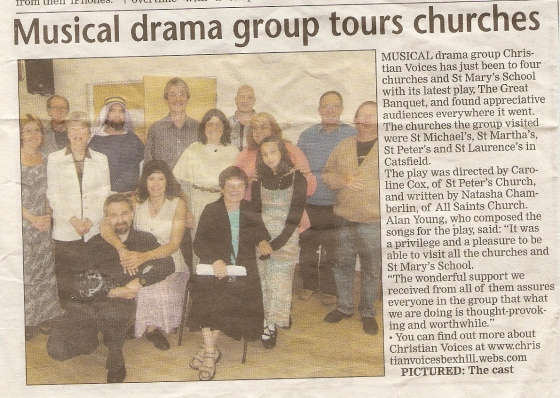Bexhill Observer - TGB - Review - 20110709
