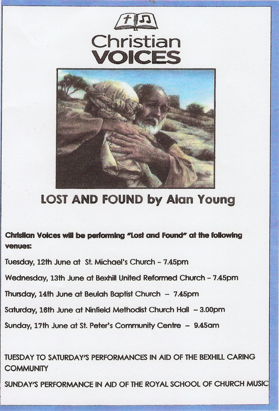 Lost an Found (2012) Flyer