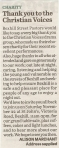 Letter to the Bexhill Observer 21/Nov/2014