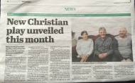 Bexhill Observer: 03/04/2015: New Christian play unveiled this month
