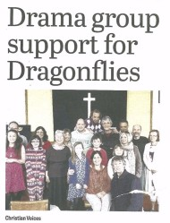 Bexhill Observer: Drama group support for Dragonflies: 15/May/2015