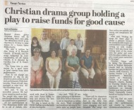 Bexhill Observer: Christian drama group holding play to raise funds for good cause